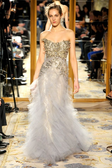 Marchesa Fall 2012 RTW #NYFW