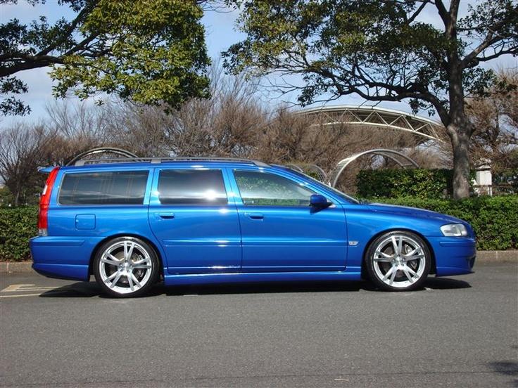 Volvo V70R Blu 2