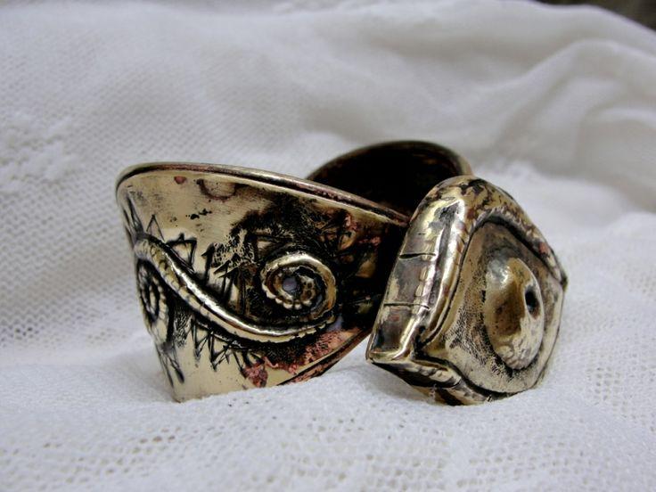 "Designer-jewelry. Bijuterie de autor - Bratara ""The Eye"""
