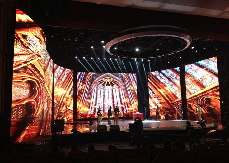 concert stage design video wall stage lighting stage set event design