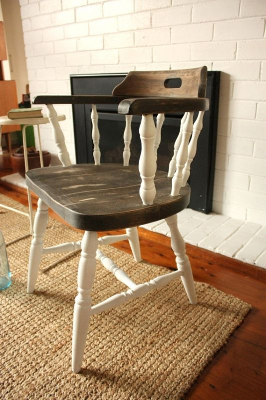 25 Best Ideas About Painting Old Chairs On Pinterest