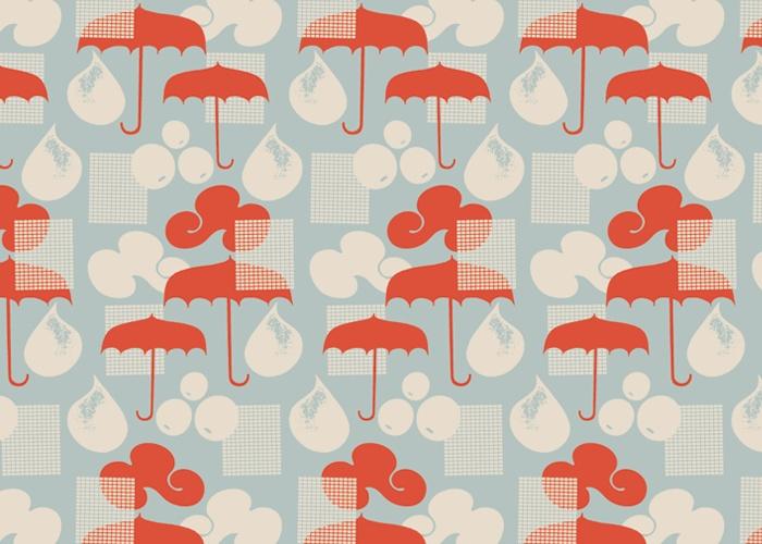 Rain Pattern by Maja Modén