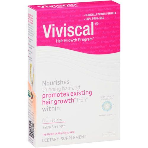 Viviscal Hair Growth Supplements, Extra Strength, Tablets, 60 count