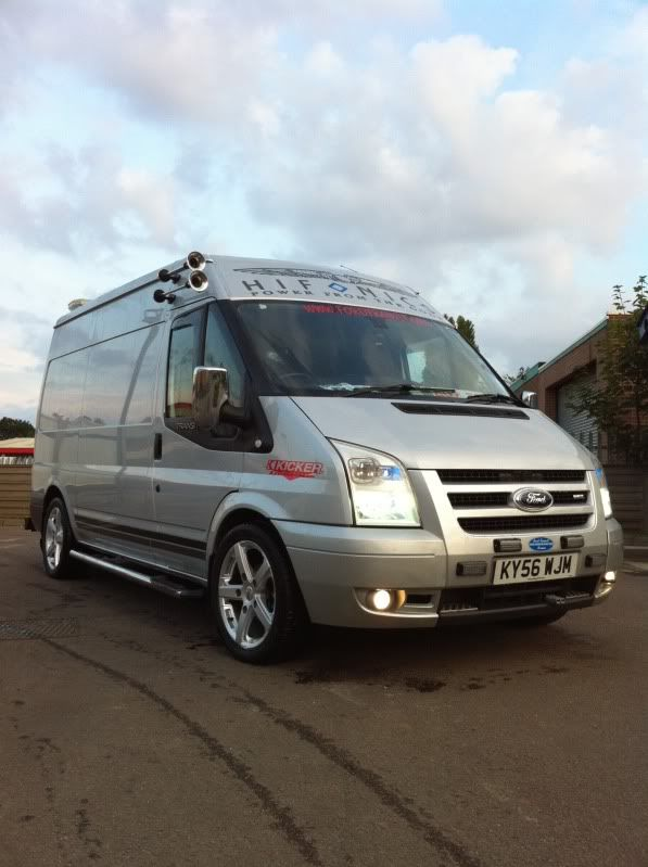 New Box Image By Zdenek Straka Ford Transit Transit Custom Ford
