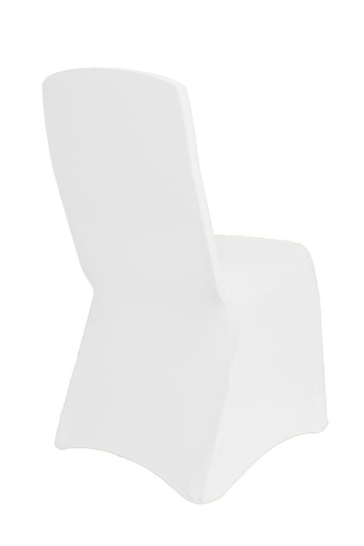 Your Chair Covers Inc. - Square Top Spandex Chair Covers White, $2.79 (http://www.yourchaircovers.com/square-top-spandex-chair-covers-white/)
