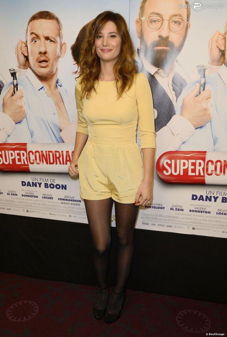 """Alice Pol lors de l'avant-première du film """"Supercondriaque"""" au Gaumont Opéra à Paris, le 24 février 2014"""