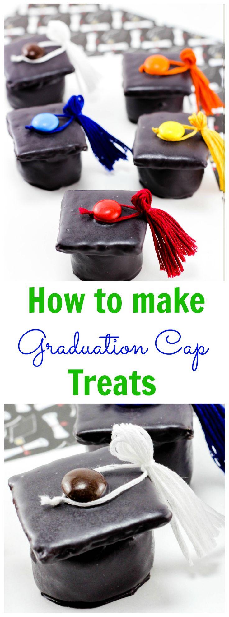 Kindergarten Graduation Treat Ideas - Graduation Cap Treats
