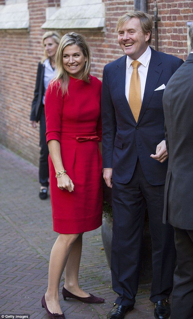 King Willem-Alexander of the Netherlands with his Queen Maxima