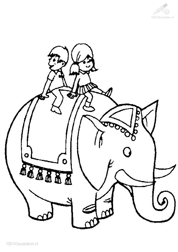 198 best Dierendag - Kleurplaten images on Pinterest Coloring - new circus coloring pages for preschool