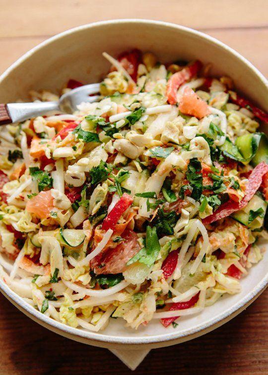 Recipe: Anna Jones' Raw Thai Citrus Crunch Salad
