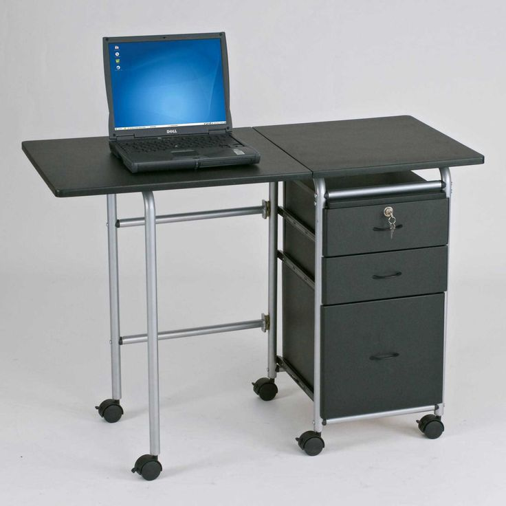 Small Portable Folding Computer Table