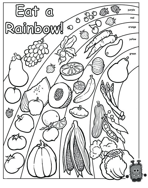 Healthy Eating Coloring Sheets Nutrition Coloring Page Healthy