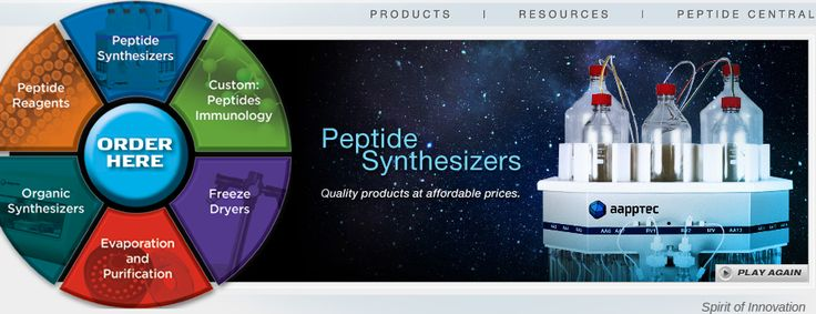 Aapptec offers custom peptide synthesis, preparative hplc guard columns, automated peptide synthesizers, peptide instruments and lot of things. If you searching these type of products to visit our website for more information.