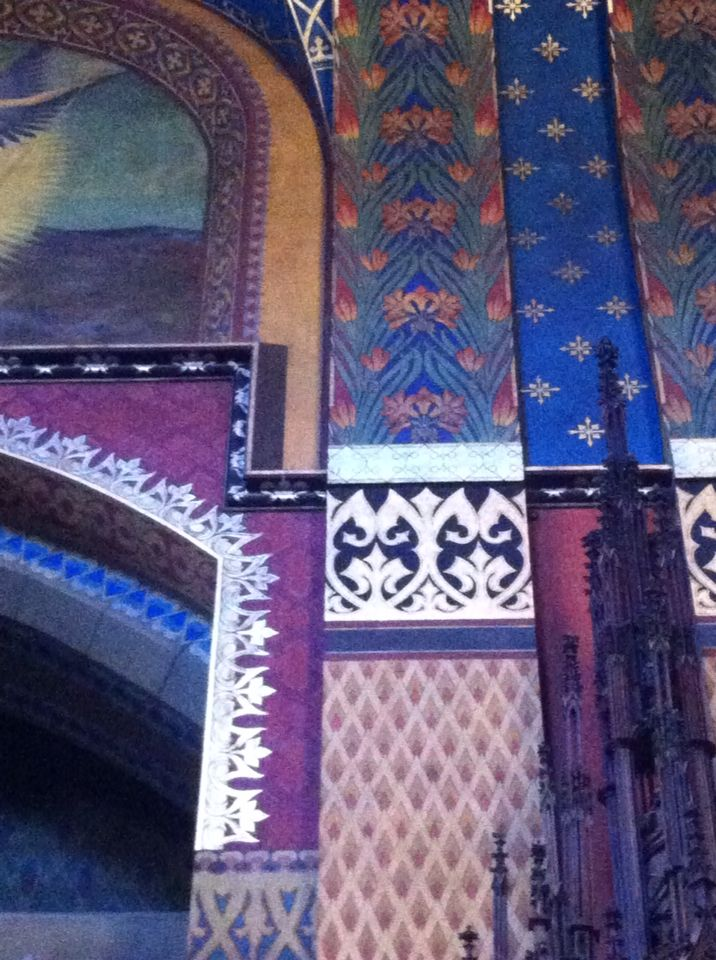 Wyspianski - interior Franciscan Church Krakow