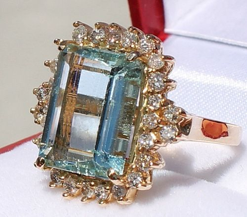 Aquamarine is a blue semi-precious stone in the beryl family and is closely related to the emerald. The Aquamarine is the birthstone of the month of March which relates to the Zodiac Sign of Pisces. Pisces dates: February 20 – March 20. Aquamarine often symbolizes hope, courage and friendship.