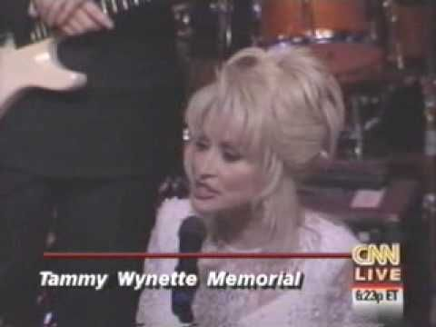 On this day in 1998, Tammy was eulogized with a public memorial service at The Ryman featuring performances by Dolly Parton, Lorrie Morgan, Rudy Gatlin, Randy Travis and The Judds, among others.