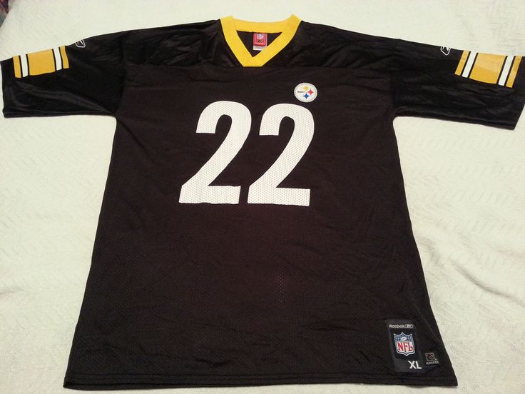Up for your consideration is a Reebok NFL Pittsburgh Steelers Duce Staley number 22 jersey. The jersey is a size XL and is black. This is a GREAT looking jersey and in great condition! The jersey comes from a smoke free home. | eBay!