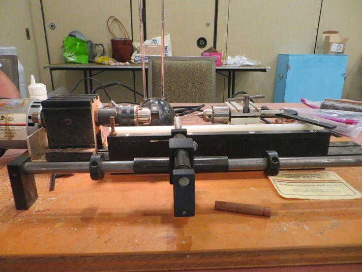 THE PERIPATETIC MINIATURIST: Lathe Duplicator Class With Tom Walden