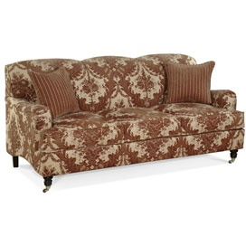 Wembley Rounded Back Sofa In Choice Of Fabric For The