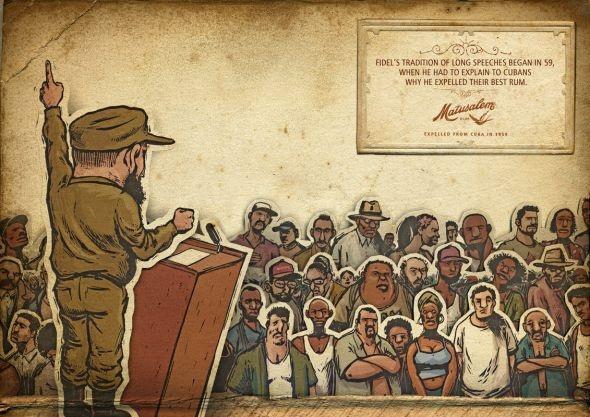 Matusalem Rum: Speech