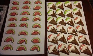 Caketown: Wakacyjne ciasteczka