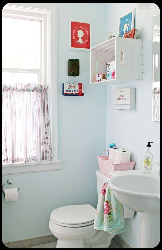 Best Blue Small Bathrooms Ideas On Pinterest Tiny Bathroom - Blue bathroom accessories for small bathroom ideas