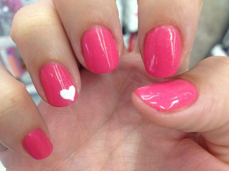 Pink summer nails, nail art | beauty | Pinterest  Pink summer nai...