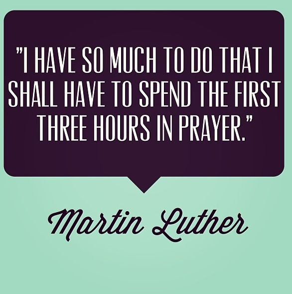 Martin Luther quote | This is how it should be! (:
