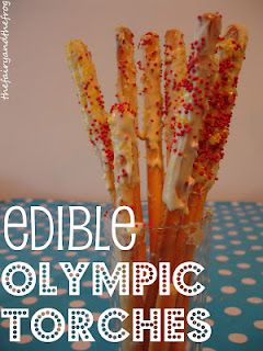Edible #Olympic activities for kids to help them celebrate