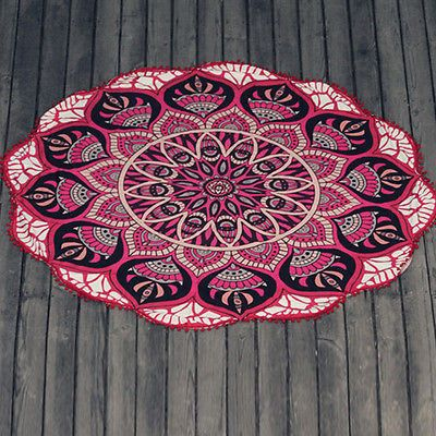 Indian Mandala Tapestry Beach Towels