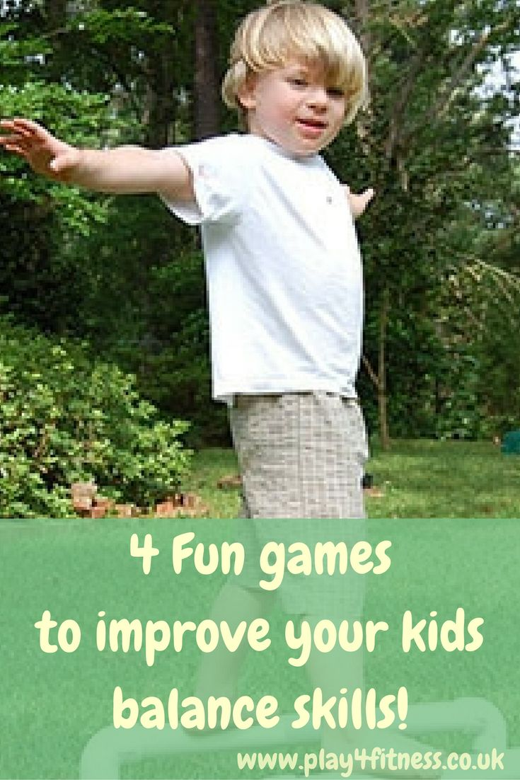 Fun games to improve your kids balance skills!