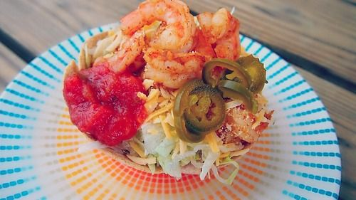 Shrimp taco salad and other recipes!