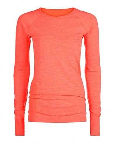 Finish Line Long Sleeve Workout Top - paradise | long sleeve tops | Sweaty Betty
