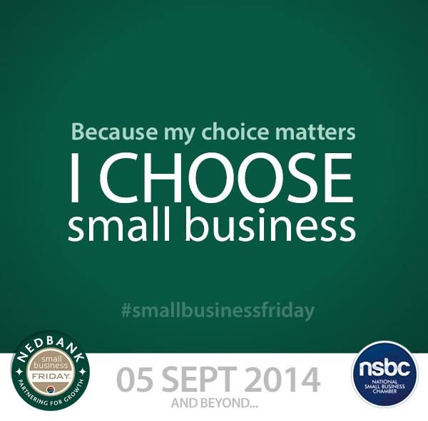 Make a difference with your heart, feet and wallet. Join Nedbank and the National Small Business Chamber and make more jobs for more people happen when you support local small business.