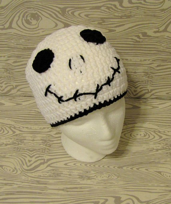 525dc33198075 Jack Skellington beanie Nightmare Before Christmas winter