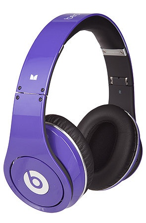 The Studio High-Definition Headphones in Purple  beats doc dre