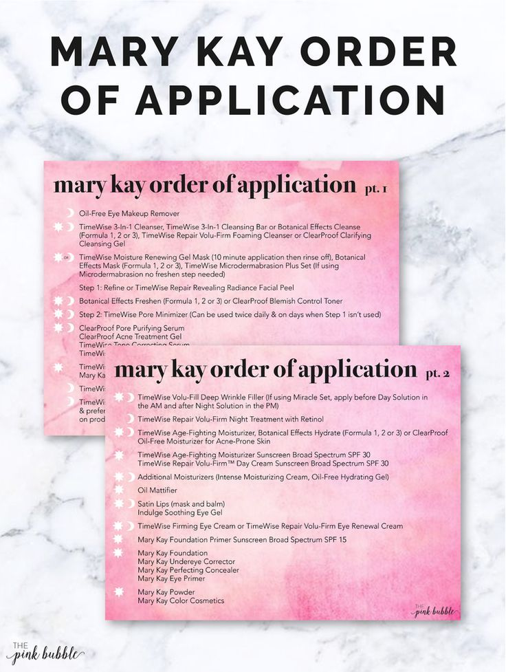 Mary Kay Order of Application Postcards. Find them only at www.thepinkbubble.co!