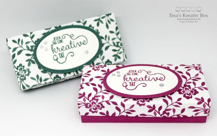 Twix Verpackung mit den neuen In-Colours - mit Produkten von Stampin' Up!