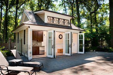 POOL HOUSE - Transitional - Patio - Philadelphia - J. Schwartz, LLC Remodeling & Fine Homebuilding