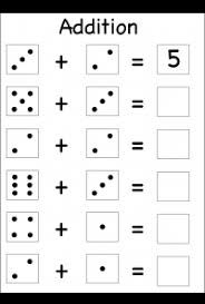 Image result for maths 1 number addition worksheets for