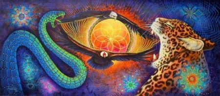 A arte visionária e o uso ou não de psicoativos - por Maurício Duarte