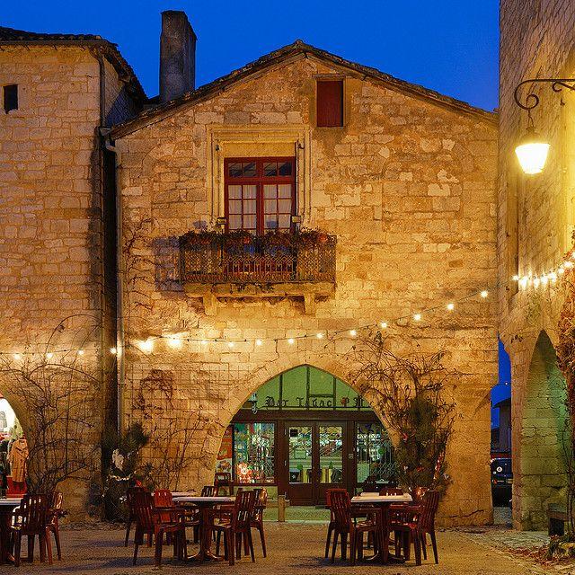 Bar de la Bastide (Monpazier, Aquitaine, France)