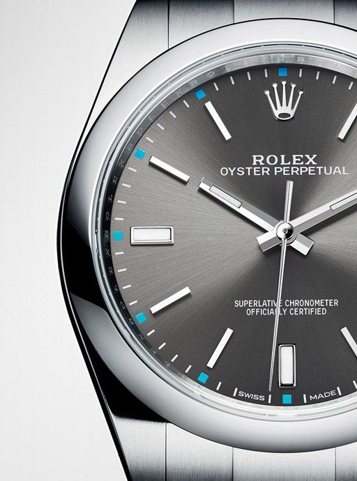 New Rolex Oyster Perpetual watch. The first Rolex that I've actually desired.