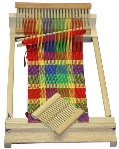 Our BEKA BEGINNER'S WEAVING LOOM is perfect for the young and the young-at-heart. An excellent loom for the beginning weaver, it also performs well as a portable loom for more experienced weavers. Thi