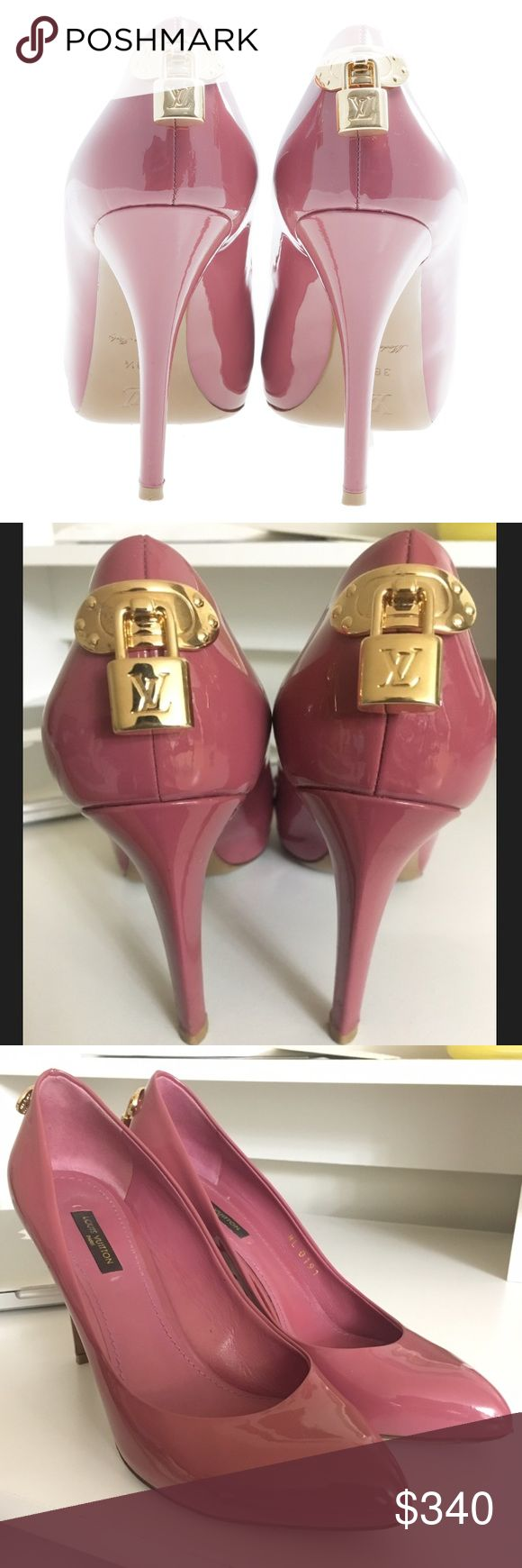 Louis Vuitton Oh Really Closed Toe Pump Sz 37 Great condition. Worn a few times but only wear is on the bottoms. Size 37. Authentic. Louis Vuitton Shoes Heels