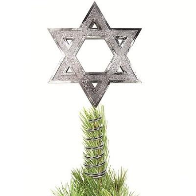 #Hanukkah Tree Topper yessssss #Chrismukkah