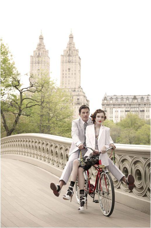 Central Park: Bicycles, Centralpark, Engagement Photos, Bike Rides, Couple, Engagement Shoot, Photo Idea, Central Park, Romance