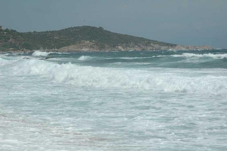 Nice view from Sarti beach