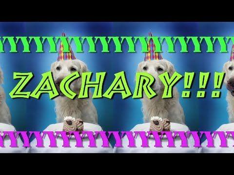 HAPPY BIRTHDAY ZACHARY! - EPIC Happy Birthday Song - YouTube