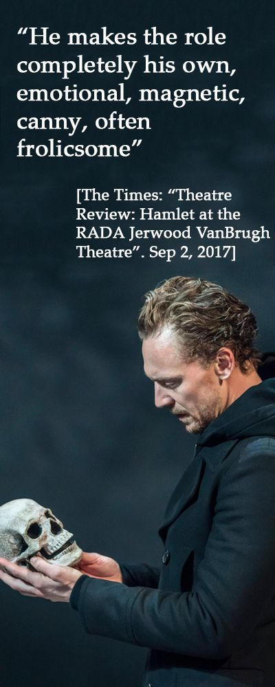 The Times: Theatre Review: Hamlet at the Rada Jerwood Vanbrugh Theatre. Thanks Torrilla: https://m.weibo.cn/status/4147451948699401